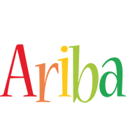 Ariba birthday logo
