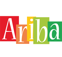Ariba colors logo