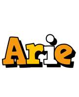Arie cartoon logo