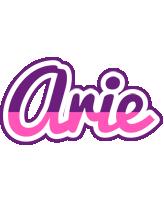 Arie cheerful logo