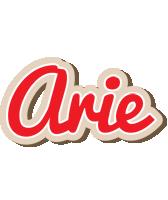 Arie chocolate logo
