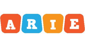 Arie comics logo