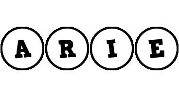 Arie handy logo