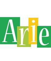 Arie lemonade logo