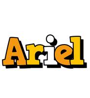 Ariel cartoon logo