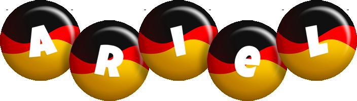 Ariel german logo