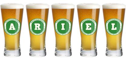 Ariel lager logo