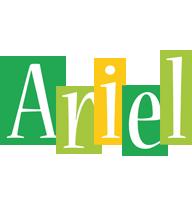 Ariel lemonade logo
