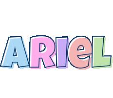 Ariel pastel logo