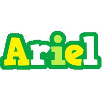 Ariel soccer logo