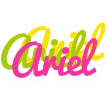 Ariel sweets logo