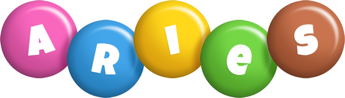 Aries candy logo