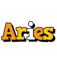 Aries cartoon logo