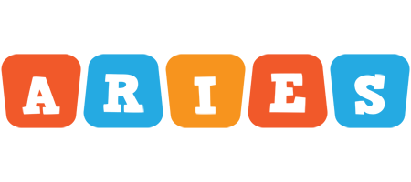 Aries comics logo