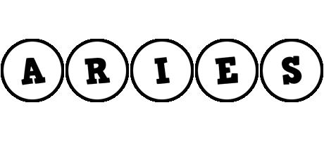 Aries handy logo