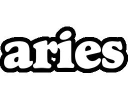 Aries panda logo