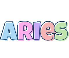 Aries pastel logo