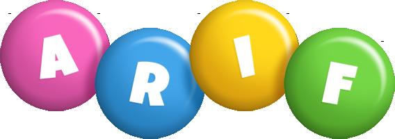 Arif candy logo