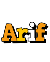 Arif cartoon logo