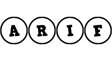 Arif handy logo