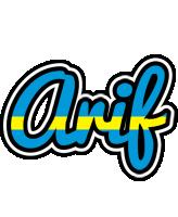 Arif sweden logo
