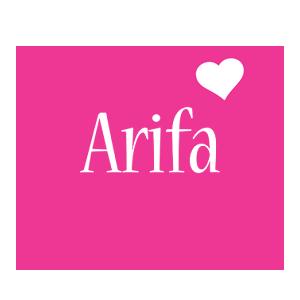 name arifa