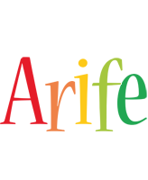 Arife birthday logo