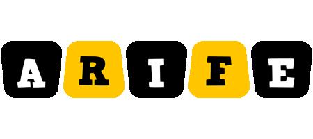 Arife boots logo