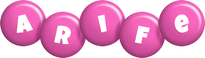 Arife candy-pink logo