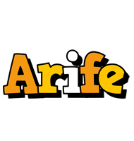 Arife cartoon logo