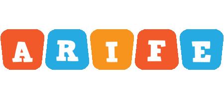 Arife comics logo