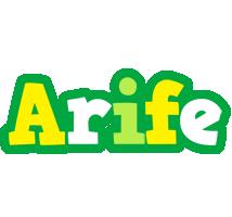 Arife soccer logo