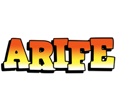 Arife sunset logo