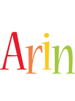 Arin birthday logo