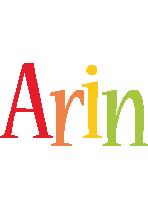 Arin birthday logo