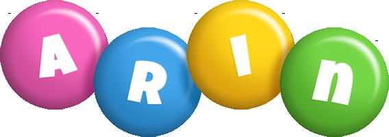 Arin candy logo