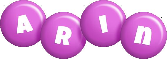 Arin candy-purple logo