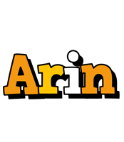 Arin cartoon logo