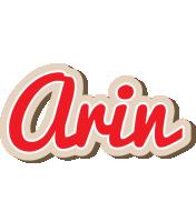 Arin chocolate logo