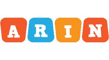 Arin comics logo