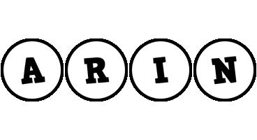 Arin handy logo