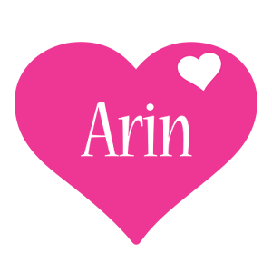 Arin love-heart logo