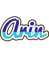Arin raining logo