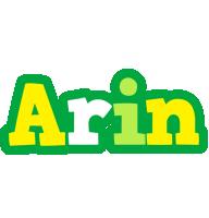 Arin soccer logo