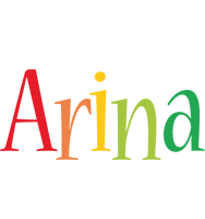 Arina birthday logo