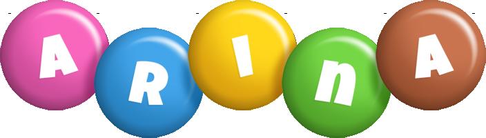 Arina candy logo