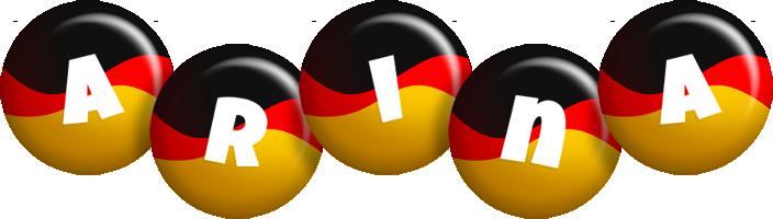Arina german logo