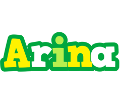 Arina soccer logo