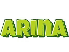 Arina summer logo