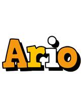 Ario cartoon logo
